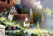 THOMAS KINKADE E JIM MITCHELL