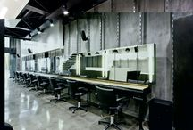 Project – Hairdresser interior design