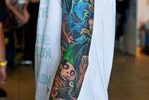 Tattoos / I fantsy them or I want them.