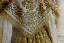 Русское золотое шитьё