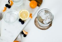 Fresh, fruity water recipes / Sparkling Water Ideas and Recipes #eatclean #drinkclean