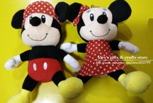 how sew mickey mouse :-)