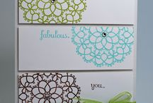Cards Made with Doilies