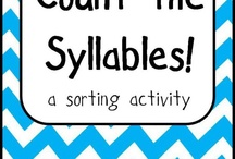Syllables / by Meghan Davis