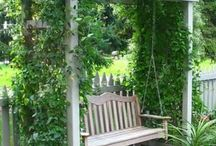 Swing garden ideas
