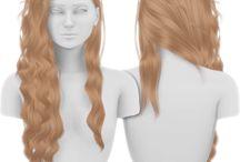 The sims 4 Hair Female