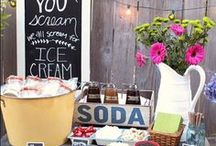 Food stations we love for weddings.