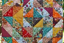 triangle into blocks quilt