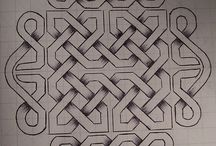 Keltiska knutar och mönster