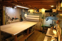 My Workroom / Design Studio / My many workspaces...
