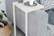 table acoudoir
