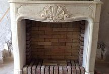 summerhouse fireplace