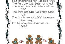 gingerbread poem / by DeLana Smith