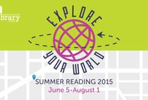 Summer Reading 2015 / Explore Your World Summer Reading 2015. June 5-Aug 1. / by Greenville Library