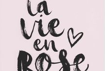 La vie en rose / When you kiss me, heaven sighs.