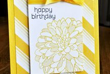 Simply Great Cards / Cards with a simple, pleasing, eye-catching design