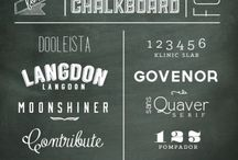 Chalkboard Fonts & Effects