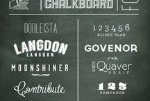 Chalkboard Fonts & Effects