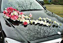 Wedding Car Decoration - Νυφικο Αυτοκινητο - nyfiko aytokinhto