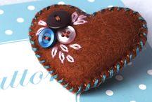 Folksy Finds - Heartfelt / Lovely, felty, hearty things...