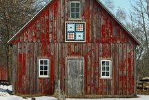 Quilts, barn / by Alice Fitzke