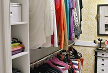Master Closet / Master closet ideas, how to build in storage, paint ideas, and overall design inspiration.