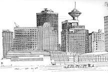 Artwork - Urban Sketching