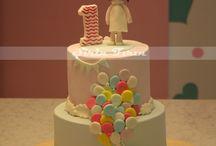 Doğum günü pastaları.