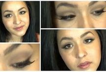 Celebrity Makeup Tutorials / Looks inspired by the stars in Hollywood, music videos, and movies