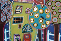 domki malowane