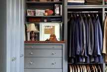 My house: walk-in closet