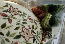 Handmade--Embroidery & X Stitch