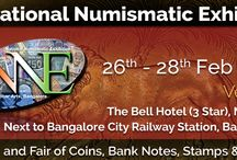 NNE - 7, Bangalore 2016 / India's Largest Numismatic Fair and Expo.  On 26th, 27th and 28th Feb 2016. The Bell Hotel, Bangalore. For STALL Booking and enquiries, Please Contact Us At : +91-80-6532 9800, +91 99800 20666