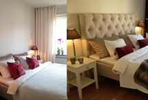 BEFORE AFTER - INTERIORS / YOU TO CAN GET THESE AMAZING BEDROOM TRASFORMATONS BY VISITING MY BLOG http://inredningsvis.se/