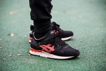 "Asics Gel-Lyte V ""Black/Chili"" (H6D2Y-9024)"