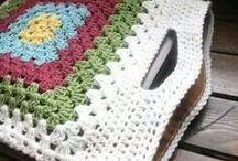 bolsos tejidos a crochet
