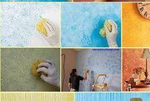 Pinturas y testuras