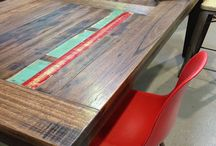 Recycled timber ideas
