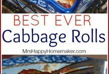 Food - Cabbage Rolls
