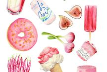 Food illustrations