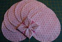 costuras dobradas em tecido