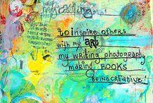 Art journals = :-)