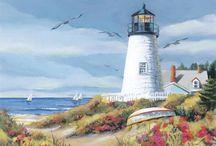 маяки море