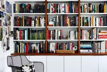 style your bookshelf / Ideas for organizing your bookshelves into fabulous focal points and expressions of your personal style. #bookshelf #bookshelves
