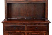 meble kolonialne | colonial furniture / Drewniane meble kolonialne z Indii, wykonane z palisandru, teku, akacji i mango.