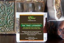 Handmade Soap Tea Tree / Tea Tree Handmade Soap is great for acne prone skin, outbreaks and oily skin.