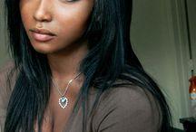 brownskin gurls / women with dark beautiful skin