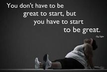 get fit! / by Kylee Freeman