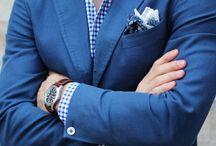 Fashion for Men / A man's wardrobe doesn't need to be boring.  Fashion beyond basic khakis.