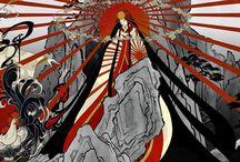 myth // amaterasu-ōmikami / shinto goddess of the sun and the universe